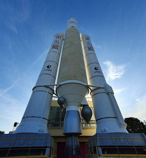 Image of an Ariane rocket
