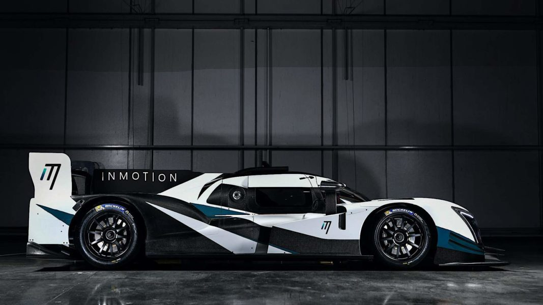 InMotion Eindhoven Ginetta Le Mans 24 hours 2023 full car