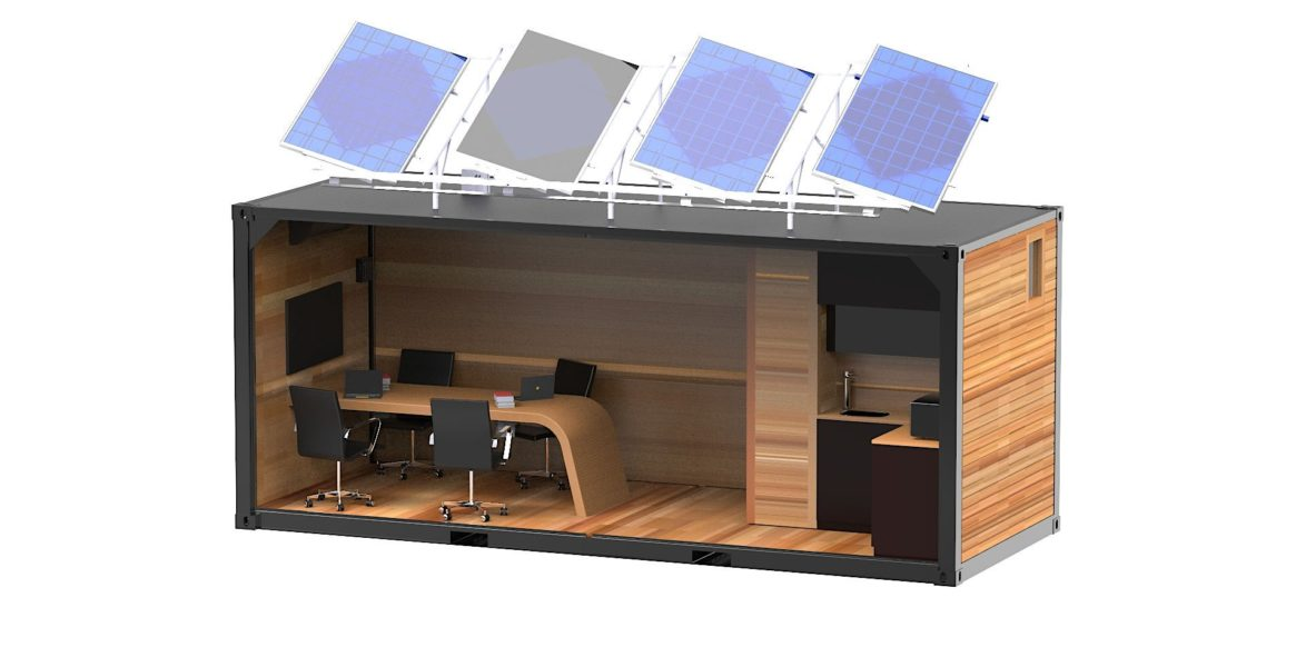 Complete Catia V5 3D Computer Added Design (CAD) model of the meeting room variant interior layout.