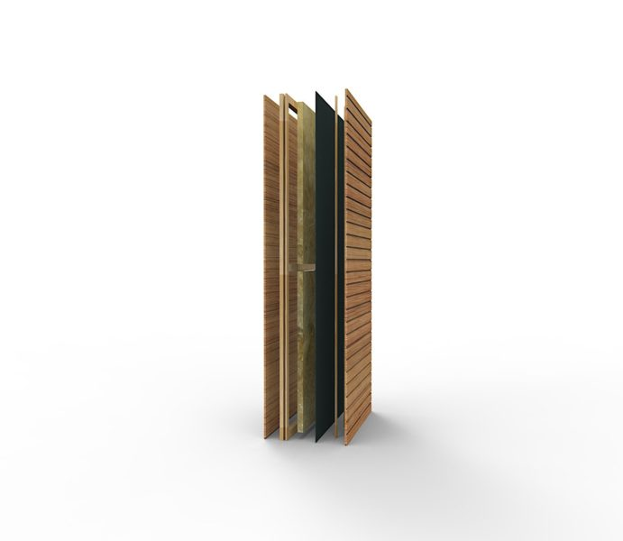 The container walls consist of composite sandwich structures calculated to increase heat insulation.
